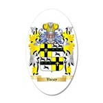 Vaizey 35x21 Oval Wall Decal