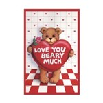 Love You Beary Much Mini 11x17 Poster Print