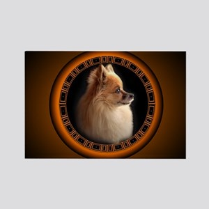 Pomeranian Fridge Magnet Small Dog Art Gifts