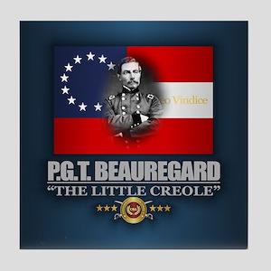 Beauregard (Southern Patriot) Tile Coaster
