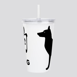 Chinese Year Of The Do Acrylic Double-wall Tumbler