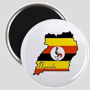 Cool Uganda Magnet