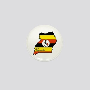 Cool Uganda Mini Button