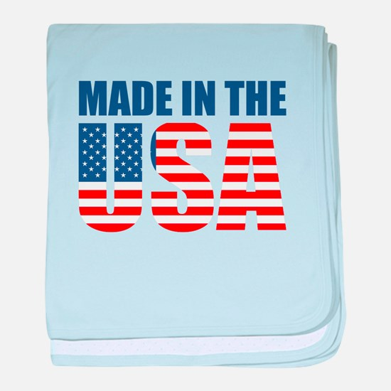 made in the usa baby blanket