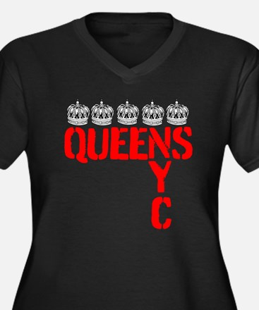 QUEENS NYC - CROWNS Plus Size T-Shirt