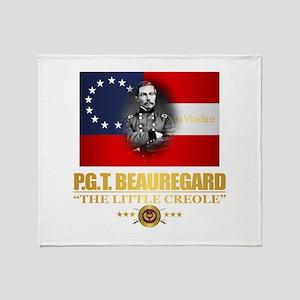 Beauregard (Southern Patriot) Throw Blanket
