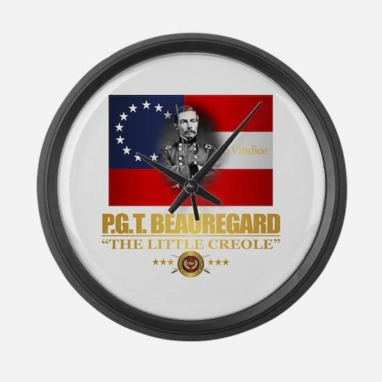 Beauregard (Southern Patriot) Large Wall Clock