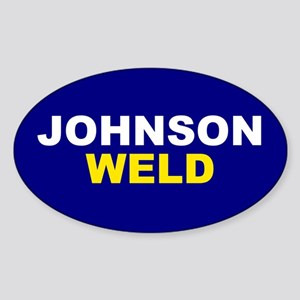 Johnson-Weld Sticker
