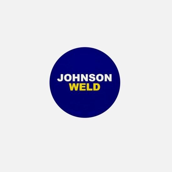 Johnson-Weld Mini Button