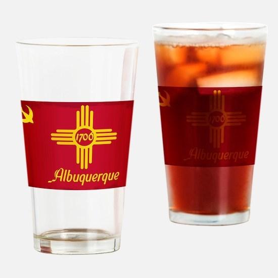 Cute Albuquerque Drinking Glass
