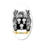 Vyner 20x12 Oval Wall Decal
