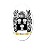 Vyner 35x21 Oval Wall Decal