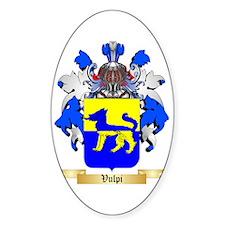 Vulpi Sticker (Oval)