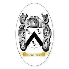 Vuillerme Sticker (Oval)