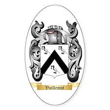 Vuillemot Sticker (Oval)