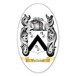 Vuillemot Sticker (Oval 10 pk)
