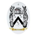 Vuillemot Oval Ornament