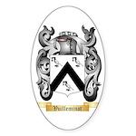 Vuilleminot Sticker (Oval 10 pk)