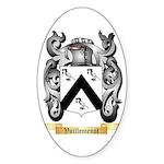 Vuillemenot Sticker (Oval 10 pk)