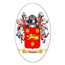 Vowles Sticker (Oval)