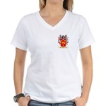 Vowle Women's V-Neck T-Shirt