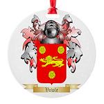 Vowle Round Ornament