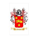 Vowle Sticker (Rectangle 50 pk)