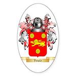 Vowle Sticker (Oval 50 pk)