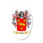 Vowle 20x12 Oval Wall Decal