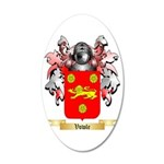 Vowle 35x21 Oval Wall Decal