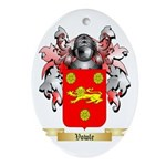 Vowle Oval Ornament