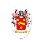 Vowells Oval Car Magnet