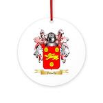 Vowells Round Ornament