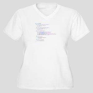Donald Trump Java Code Plus Size T-Shirt