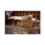 Buddha Reclining Mini Poster Print