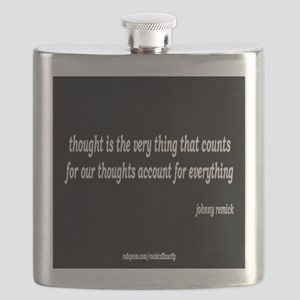 thought that counts Flask