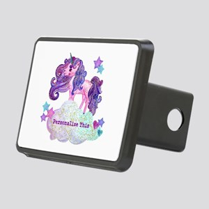 Cute Personalized Unicorn Hitch Cover