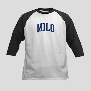 MILO design (blue) Kids Baseball Jersey