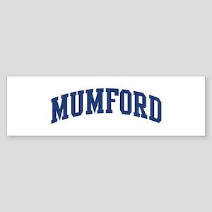 MUMFORD design (blue) Bumper Sticker