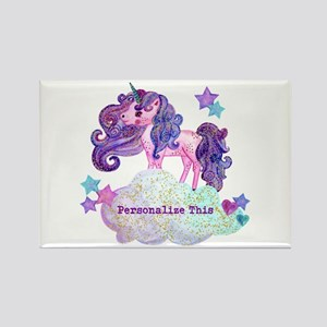 Cute Personalized Unicorn Magnets