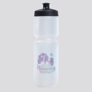 Cute Personalized Unicorn Sports Bottle