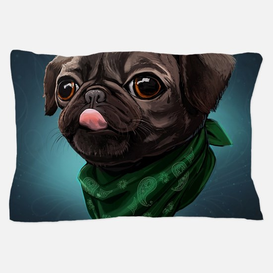 Cute Puggles Pillow Case