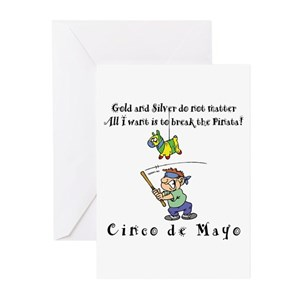 Mexican fiesta greeting cards cafepress m4hsunfo