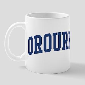 OROURKE design (blue) Mug