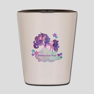 Cute Personalized Unicorn Shot Glass