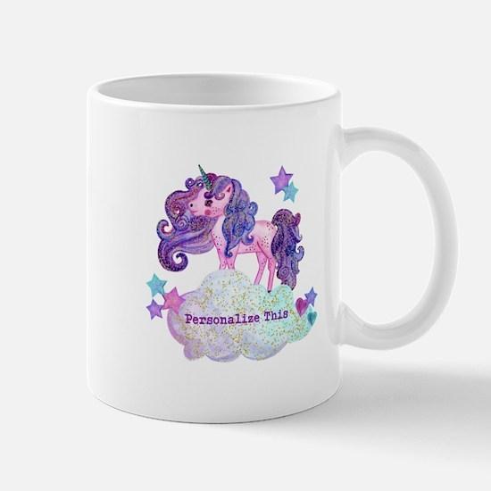 Cute Personalized Unicorn Mugs