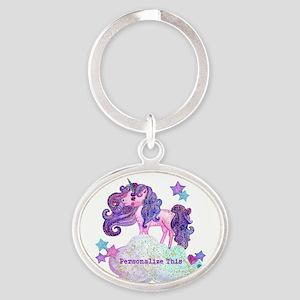 Cute Personalized Unicorn Keychains