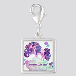 Cute Personalized Unicorn Charms