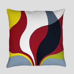 Mid century modern edited Everyday Pillow