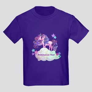 Cute Personalized Unicorn T-Shirt